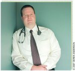 Dr. Brian Forrest. PHOTOGRAPHS BY DEREK ANDERSON After growing frustrated with the patient volume and time requirements of managed care, Dr. Brian Forrest started his own practice with a unique model of care. Its flat-rate fee and longer office visits have proven popular with patients.